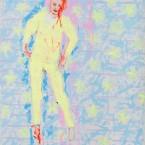 Verzauberter Prinz  2009, Acryl auf Leinwand, 100 x 80 cm