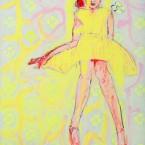 Feiertag  2012, Acryl auf Leinwand, 100 x 80 cm