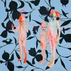 Qualitative Potenzierung 2010, Acryl auf Leinwand, 150 x 200 cm