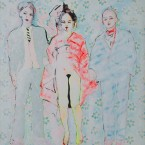 Gruss an Manet  2011, Acryl auf Leinwand, 150 x 125 cm